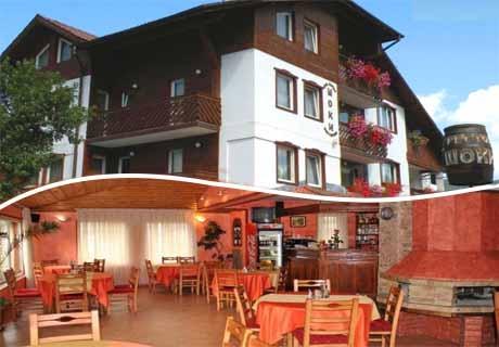 Нощувка със закуска и вечеря + релакс зона от хотел Шоки, Чепеларе
