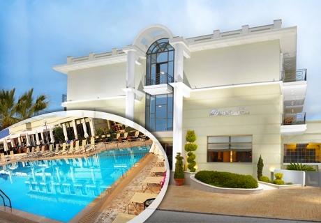 Цяло лято 4-звездна почивка на Олимпийската Ривиера! Нощувка със закуска и вечеря + басйен от Danai Hotel!