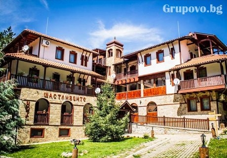 Почивка в Старозагорски минерални бани! Нощувка със закуска и вечеря или обяд + сауна и солна пещера в хотел Левкион