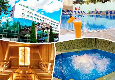 СПА изкушение във Велинград! 2 нощувки със закуски и вечери + басейн с минерална вода и СПА процедури в хотел Здравец Уелнес и СПА****