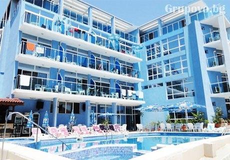ТОП СЕЗОН в Китен! Нощувка със закуска и вечеря + басейн в хотел Китен Палас - на 200м. от плажа!