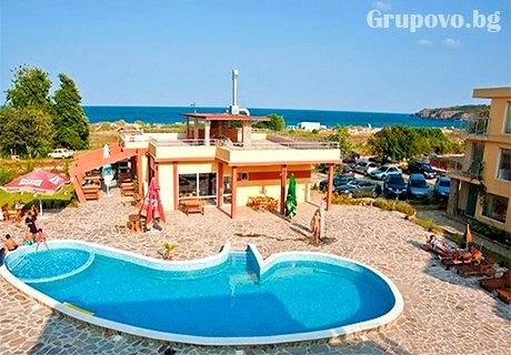 Лято в Созопол на 10м. от плаж Каваци. Нощувка със закуска + басейн САМО в Мапи Холидейс