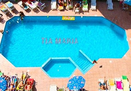 ТОП сезон в Слънчев Бряг! 2 или 3 нощувки със закуски + басейн в  Хотел Тия Мария***