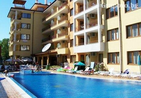 Нощувка в апартамент за ЧЕТИРИМА в Апартхотел Sunny Dream Apartments, Слънчев бряг