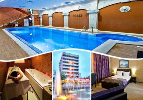 Цяла седмица СПА и презареждане в Сандански! 7 нощувки със закуски за ДВАМА + СПА, минерален басейн и БОНУС масаж в РЕНОВИРАНИЯ хотел Свети Никола****