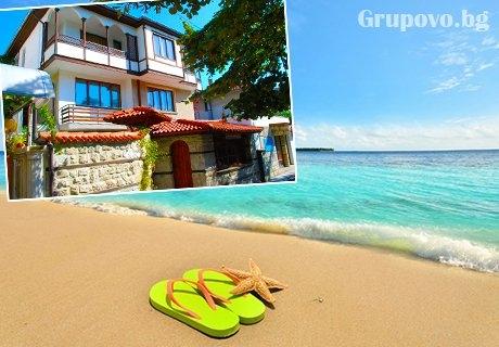 Септември в Несебър на 300 м. от плажовете. Нощувка за ДВАМА или ТРИМА в Къща за гости Катя на ТОП ЦЕНИ