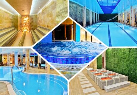 4-звезден СПА уикенд за ДВАМА във Велинград! 2 нощувки, закуски и вечери за ДВАМА + 3 минерални басейна и СПА в Инфинити Хотел Парк и
