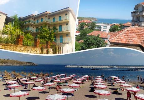 През Септември в Черноморец на ШОК ЦЕНИ! Нощувка в хотел Творческа база Архитекта