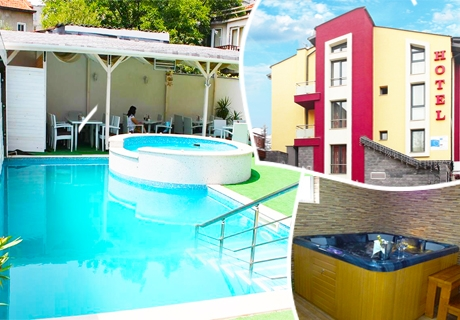 1 или 2 нощувки за двама със закуски и вечери + сауна, парна баня и джакузи в хотел Свети Георги, Велинград
