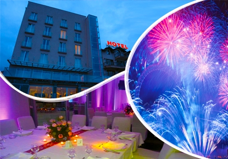 Нова година в Ниш! 2 нощувки на човек със закуски и вечери + празничен куверт и транспорт в хотел Aleksandar 3*