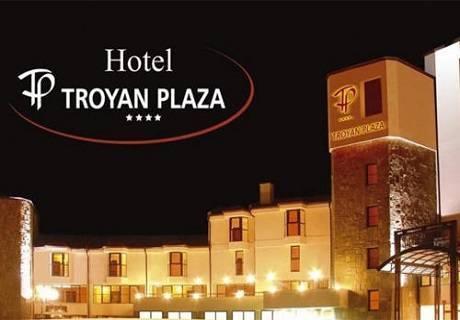 Нова година в хотел Троян Плаза! 3 или 4 нощувки със закуски и вечери, едната празнична + сауна