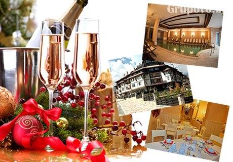 Нова Година в хотел Мария-Антоанета Резиден, Банско! 3 нощувки със закуски и вечери, празничен куверт + басейн и релакс пакет