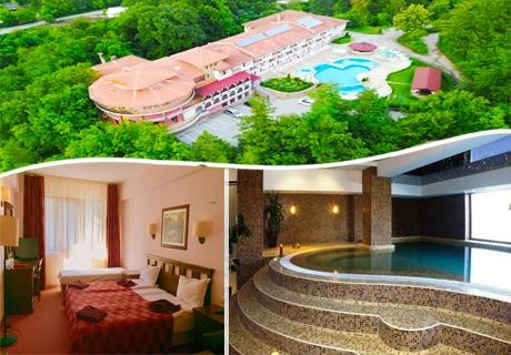 Почивка в Троянския Балкан! Нощувка на човек със закуска и вечеря + басейн в Парк хотел Троян.