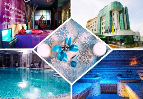 Коледа в Diplomat Plaza Hotel & Resort****, Луковит! 2 или 3 нощувки на човек + закуски и 2 празнични вечери + басейн и СПА пакет