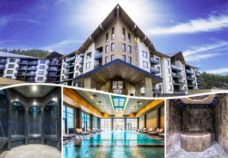 Уикенд в хотел Арте СПА, Велинград*****. 2 нощувки за двама със закуски и вечери + минерални басейни и СПА пакет