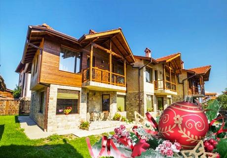 Коледа или Нова година В комплекс Рупчини къщи, Банско! 5 нощувки за до 6 човека в самостоятелна къща