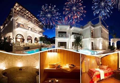 Нова година в Royal Palace Resort & Spa**** Платамонас, Гърция! 2 нощувки на човек със закуски и вечери, едната празнична