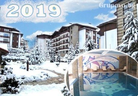 Нова година в хотел Уинслоу Инфинити, Банско! 3 нощувки на човек със закуски и вечери, едната празнична + топъл басейн и релакс пакет