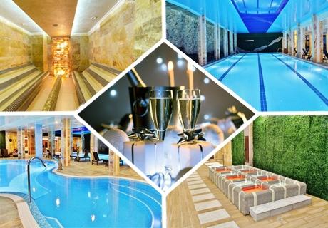 Нова година в Инфинити Хотел Парк и СПА**** Велинград! 3 нощувки за ДВАМА със закуски и вечери, празничен куверт + басейни и СПА пакет