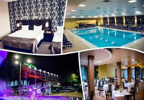 2 нощувки на човек със закуски и вечери + басейн с минерална вода и СПА процедури в хотел Здравец Уелнес и СПА**** Велинград