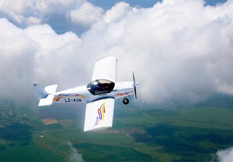 15, 20 или 30 мин. полет за един или трима със самолет Глайдинг от летище Белозем до Пловдив