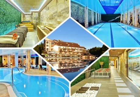 3 нощувки със закуски и вечери за ДВАМА + СПА център Victoria в Инфинити Хотел Парк и СПА****, Велинград!
