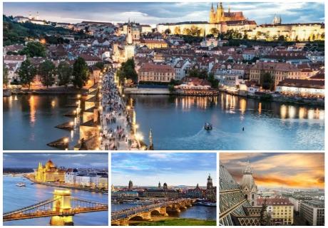 Екскурзия до Прага, Дрезден, Виена и Будапеща за Свети Валентин! Транспорт, 4 нощувки на човек със закуски от ТА БОЛГЕРИАН ХОЛИДЕЙС КИТЕН