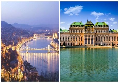 Екскурзия до  Виена и Будапеща! Транспорт, 2 нощувки на човек със закуски  от ТА БОЛГЕРИАН ХОЛИДЕЙС КИТЕН