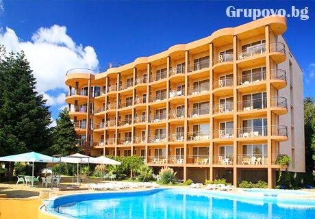 All Inclusive + басейн и лифт до частен плаж на цени от 39 лв. в хотел Бона Вита, Златни пясъци. Дете до 12г - Безплатно!