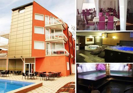 Нощувка, закуска, вечеря + басейн с минерална вода и СПА в хотел Виа Лакус, Сапарева Баня