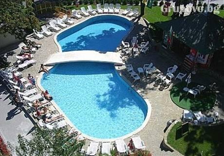 5- 12 Юли. 7 All Inclusive нощувки + басейн само за 279 лв. в хотел Диана, Златни Пясъци. Дете до 12г. БЕЗПЛАТНО!!!