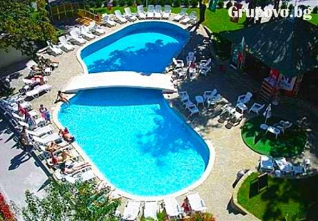 Юли и Август All Inclusive + басейн само за 42 лв. от хотел Диана, Златни Пясъци. Дете до 12 г. БЕЗПЛАТНО!!!