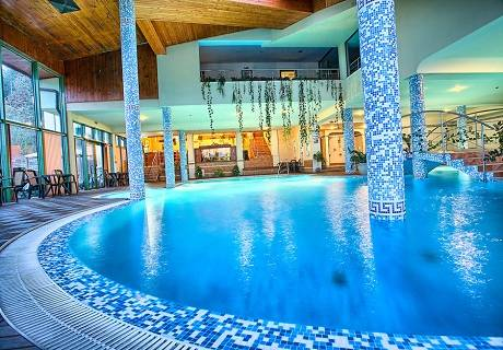 Нощувка със закуска + СПА център с минерална вода за 43 лв. в Парк хотел Олимп****, Велинград