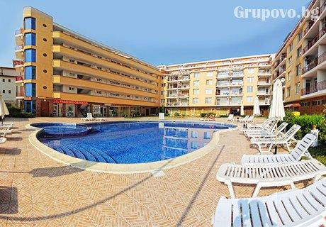 Нощувка в апартамент за до 7 човека + басейн в комплекс Sunny Day1, Слънчев бряг