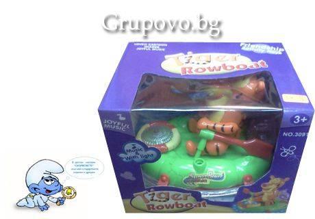 Подарък за Вашето дете – играчка Тигър в лодка от детският анимационен филм за Мечо Пух само за 8.90 лв. от детски магазин Смърфовете