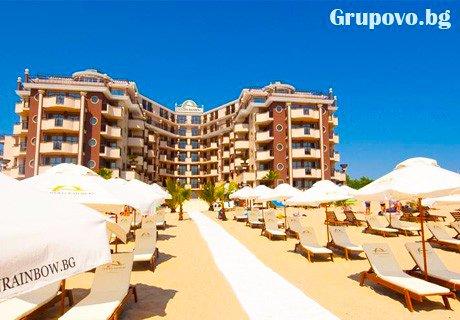През Септември на Първа линия в Слънчев бряг. All Inclusive + басейн само за 55 лв. в Хотел Голдън Ина***