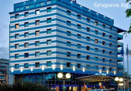 Релакс в Бургас. 1, 2 или 3 нощувки със закуски + СПА и уникален басейн в  хотел Аква