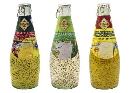 Здравословен плодов сок със семена от чия  REGAL само за 1.20 лв.