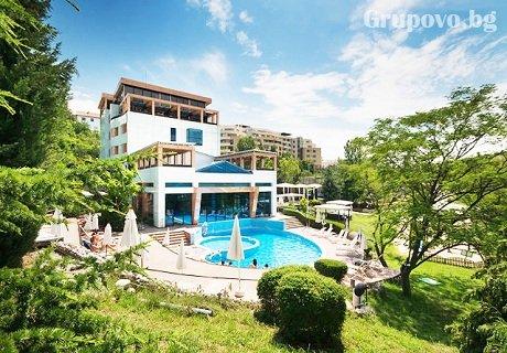МИНЕРАЛЕН басейн + нощувка със закуска в Хотел Медите Резорт & СПА 4*, Сандански