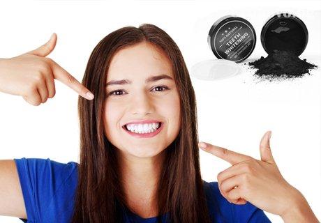 Блестяща усмивка с кокосов прах за избелване на зъби Teeth Whitening само за 18 лв. от Shillsbg