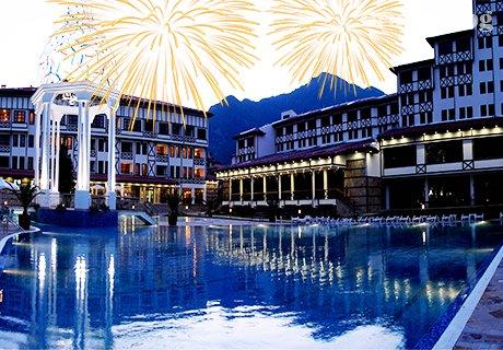 Нова Година, СПА с минерална вода и ШОУ програма в хотел Орфей 5*, Девин. 3, 4 или 5 нощувки, закуски, празнична вечеря и брънч меню