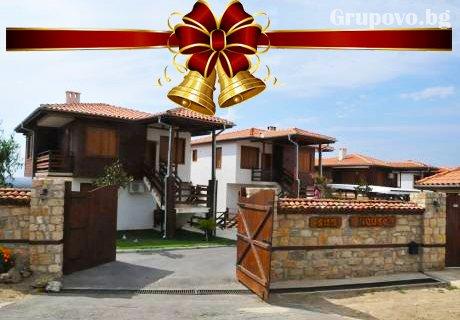 Коледа с цяла компания край Слънчев бряг! Наем на самостоятелна къщичка за 6-ма в комплекс Cherry Garden