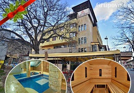 Коледа във Велинград. 3 нощувки, 3 закуски 3 вечери (едната празнична) + басейн и СПА с топла минерална вода в Хотел България