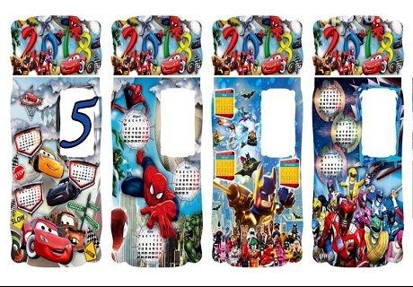 Детски календар за 2018 с анимационни герои и място за снимка 13/18 на ТОП цени от агенция Меджик Парти, Пловдив