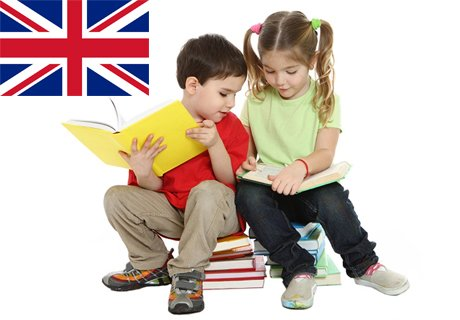 Английски за малчугани. Групи за деца от 2.5 до 4г. или за 4-5 годишни. 8 занимания само за 36 лв.