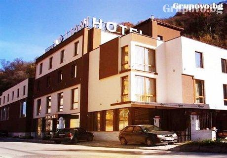 Нощувка със закуска и вечеря само за 32 лв. в хотел Лиани***, Ловеч