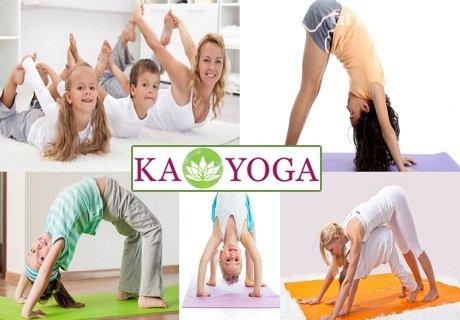 Йога за майки с деца (2-7 години) в центъра на София само за 9.99 лв. от Студио Ka Yoga