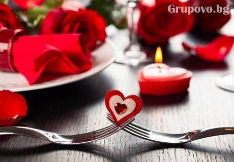 Свети Валентин до Габрово! 2 или 3 нощувки със закуски и вечери, едната Романтична от хотел Еделвайс, м. Узана
