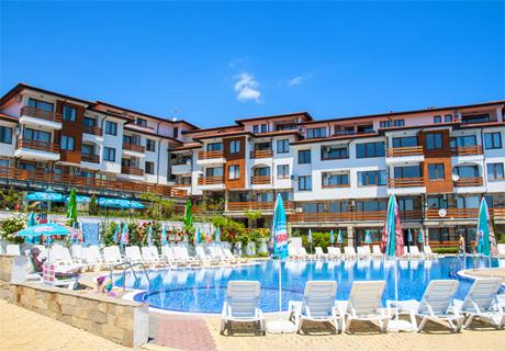 20.05 - 09.06 до Слънчев бряг! All Inclusive + басейн и трансфер до плажа от Феста Гардения Хилс, Кошарица