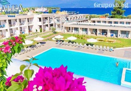 4-звезден All inclusive на 50м. от плажа на о. Тасос! Нощувка + 3 басейна, шезлонг и чадър на басейна и на плажа от Alea Hotel & Suits